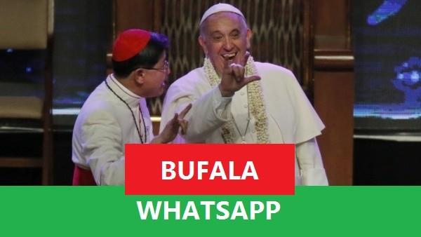 WhatsApp e la storica bufala de 'La danza del papa'
