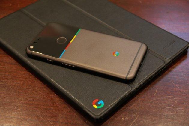 Un tocco di colore per Google Pixel XL? Si può, con questi stickers fatti in casa