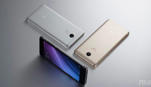Xiaomi presenta ufficialmente i nuovi Redmi 4 e Redmi 4A