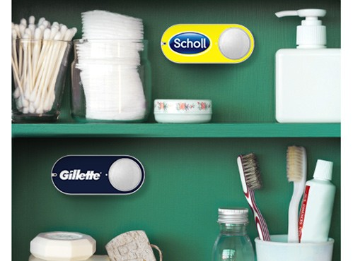 Amazon Dash Button arriva in Italia, ecco come funziona