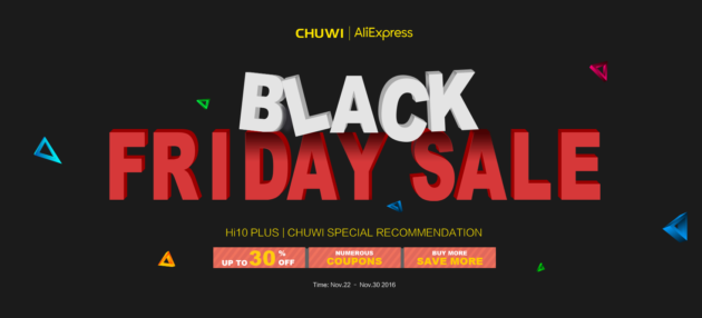 Chuwi: numerosi sconti in occasione del Black Friday