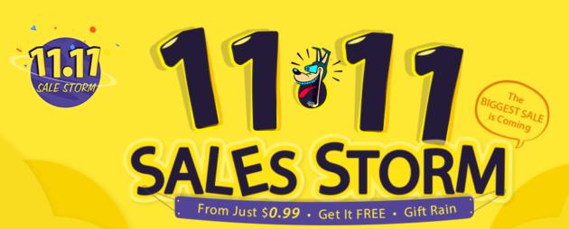 GearBest: 11.11 Sales Storm
