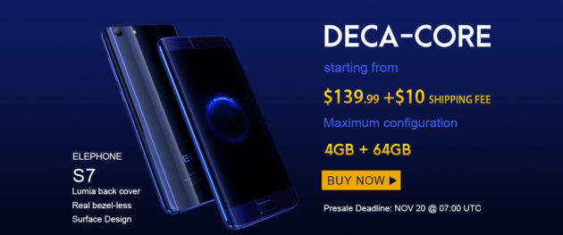 Elephone S7: esclusivo GearBest