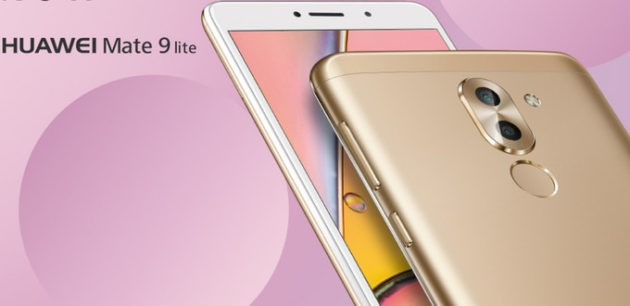 Huawei Mate 9 Lite presentato ufficialmente