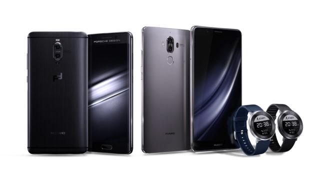 Huawei presenta Mate 9, Mate 9 Porsche Design e Fit