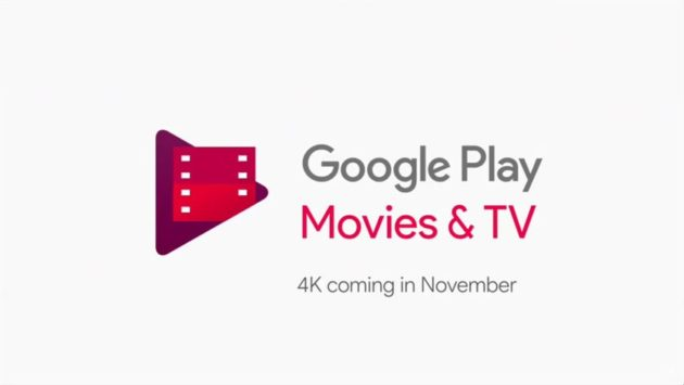 Google Play Movies: arrivano i primi film in 4K Ultra HD