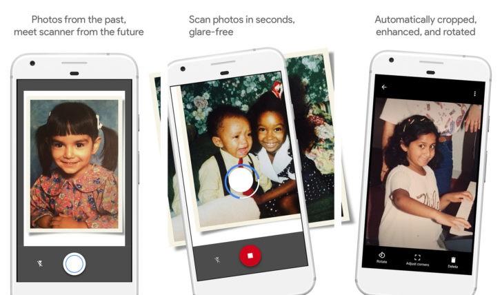 Google annuncia FotoScan, l'app per digitalizzare le nostre vecchie foto