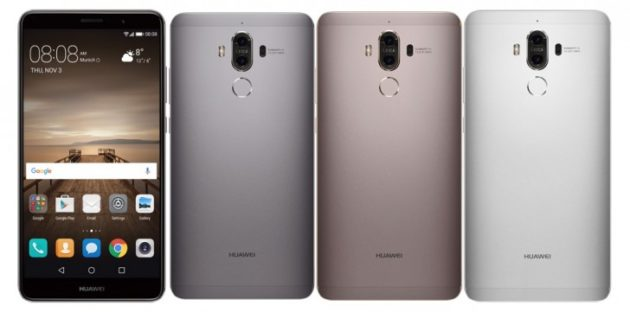 Huawei Mate 9 riceve un nuovo aggiornamento software