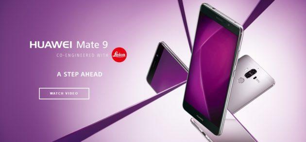 Huawei Mate 9 riceve un primo aggiornamento software