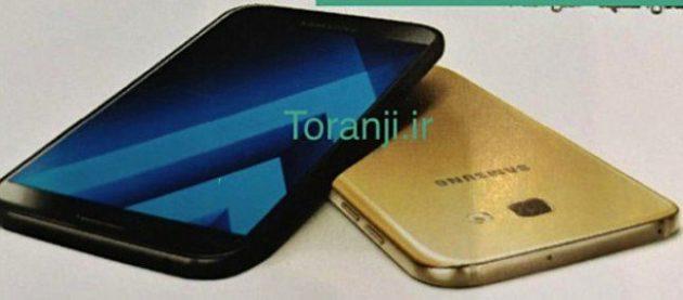 Samsung Galaxy A3, A5 e A7 (2017) svelati in Iran
