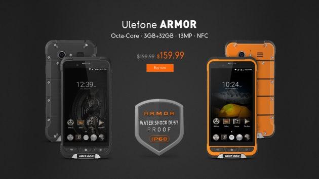 Ulefone Armor in promozione su GearBest