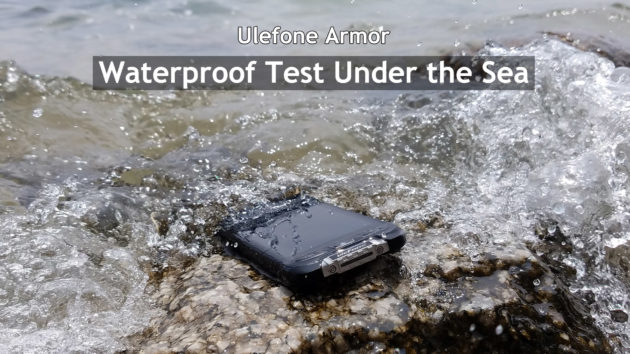 Ulefone Armor va al mare