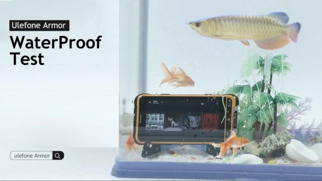 Ulefone Armor: rilasciato un test di resistenza all'acqua