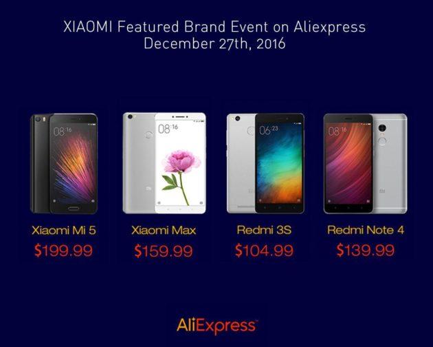 Xiaomi e Aliexpress organizzano un flash sale