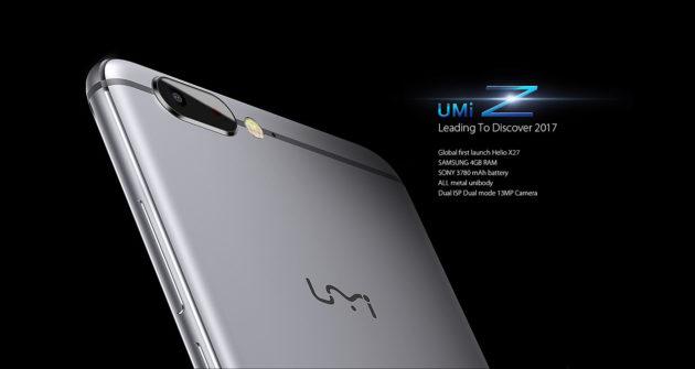 UMi Z, annunciato oggi il nuovo flagship dell'azienda cinese