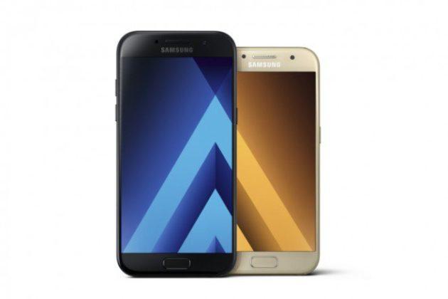 Samsung Galaxy A3, A5 e A7 (2017) ufficiali: corpo in metallo e vetro e certificazione IP68