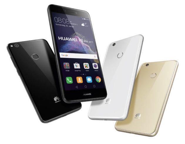 Huawei P8 Lite 2017 ufficiale: Kirin 655, 3GB di RAM e Nougat a 239€