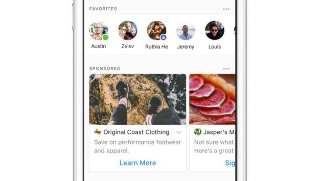 Facebook Messenger: preparatevi ad accogliere gli spot pubblicitari