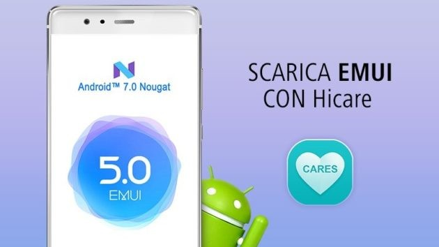 Huawei P9: disponibile l'aggiornamento per Android N