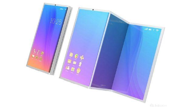 Samsung Galaxy X: vi piacerebbe se fosse così?
