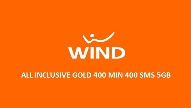 Wind: è di nuovo possibile attivare All Inclusive Gold