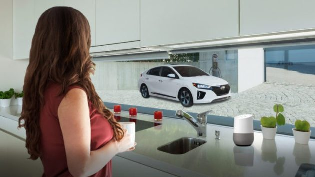CES 2017: Hyundai annuncia il supporto al controllo delle automibili tramite Google Home mediante Blue Link