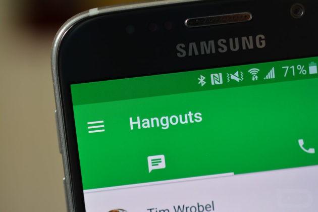 Nuovo aggiornamento per Hangouts, migliorata la gestione dei contatti