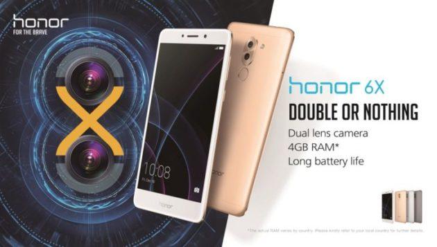 [CES 2017] Honor 6x arriva ufficialmente in Europa a 249€