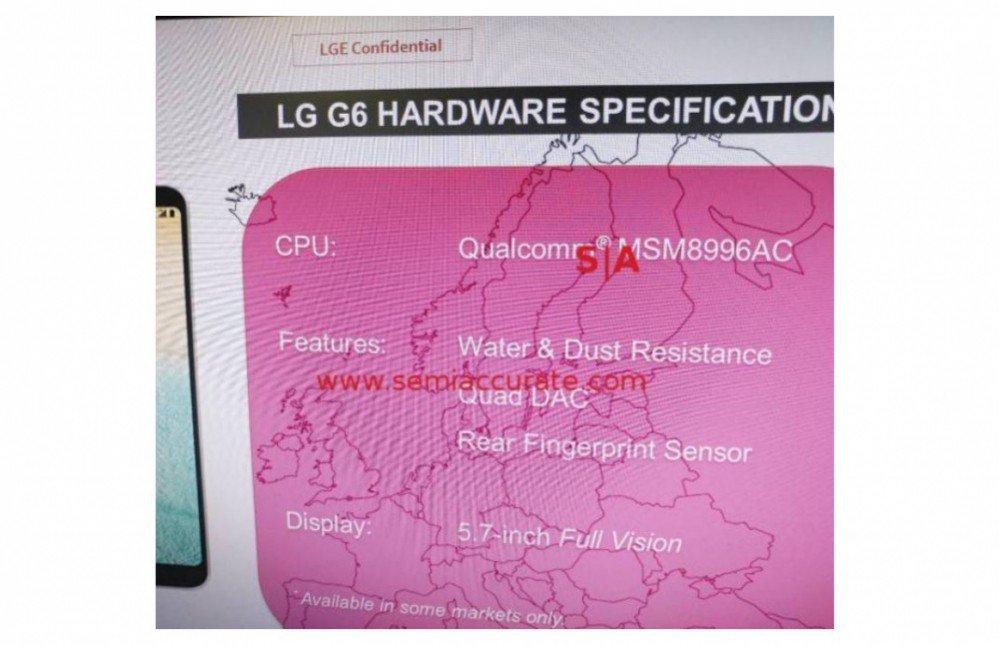 LG G6: confermato (quasi) il processore Qualcomm Snapdragon 821