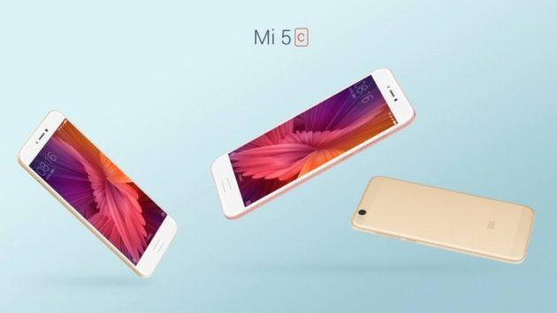 Xiaomi presenta ufficialmente il nuovo Mi 5c con il processore Surge S1