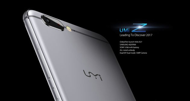 UMi Z disponibile con 50$ di sconto su GearBest ed AliExpress