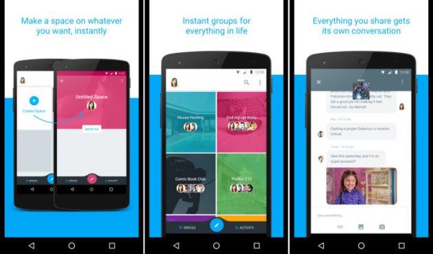 Google chiude Spaces, l'app per le conversazioni di gruppo