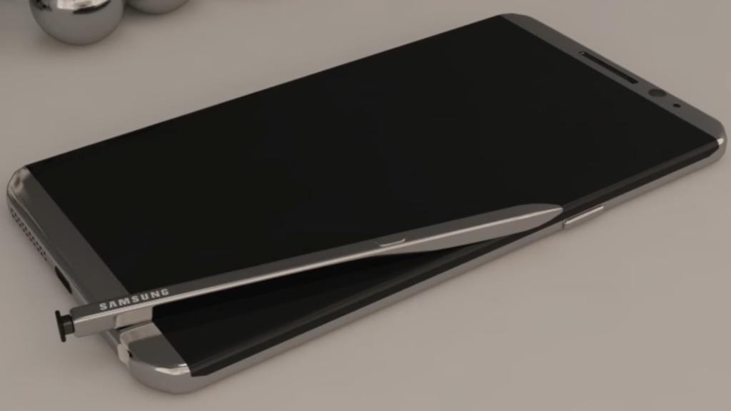 Note 8 immaginato in questo bellissimo concept - VIDEO