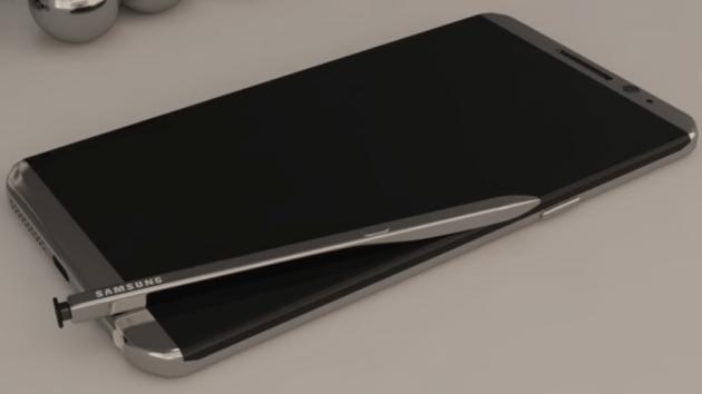 Note 8 immaginato in questo bellissimo concept – VIDEO