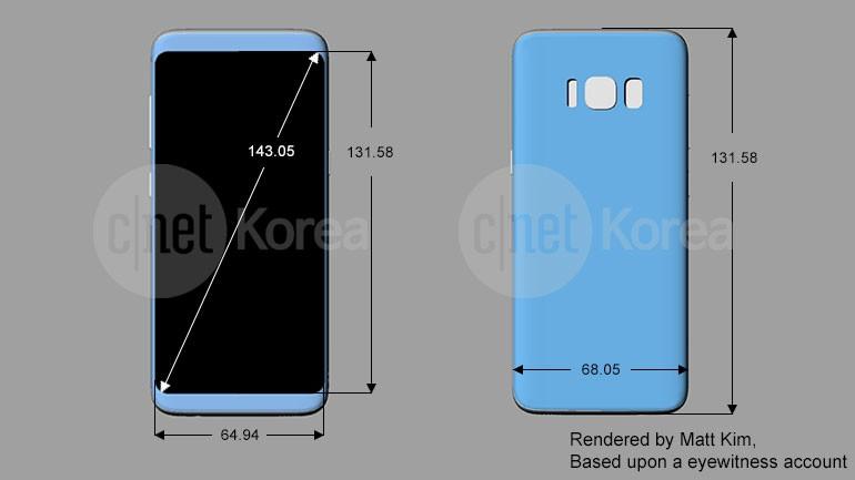 Samsung Galaxy S8 render, render e ancora... render (1)
