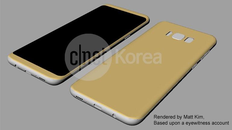 Samsung Galaxy S8 render, render e ancora... render (2)