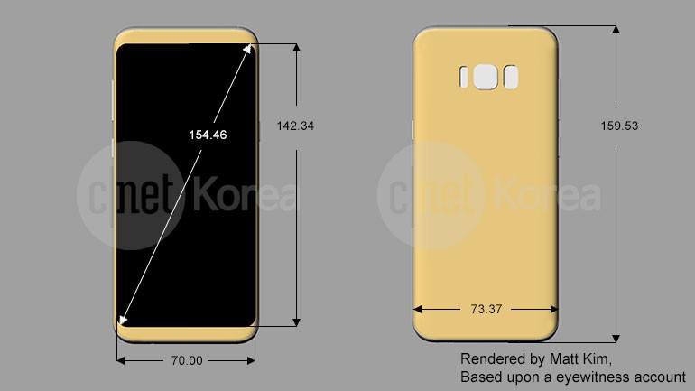 Samsung Galaxy S8 render, render e ancora... render (3)