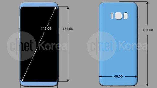 Samsung Galaxy S8: render, render e ancora... render