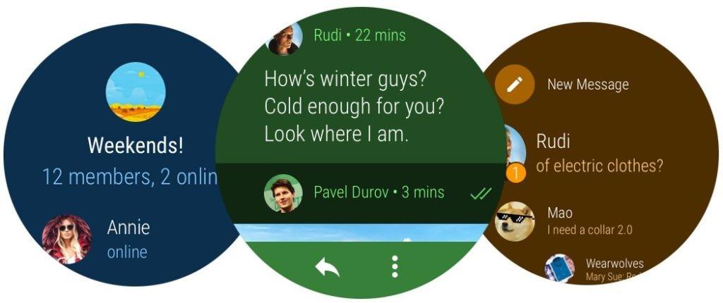 Telegram sbarca ufficialmente su Android Wear 2.0 (2)