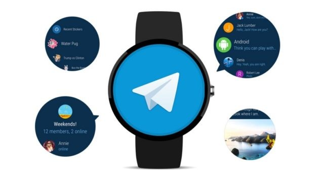 Telegram sbarca ufficialmente su Android Wear 2.0