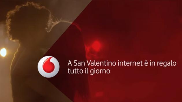 Vodafone regala 4GB di internet per San Valentino