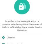 WhatsApp abilita la verifica in due passaggi (7)