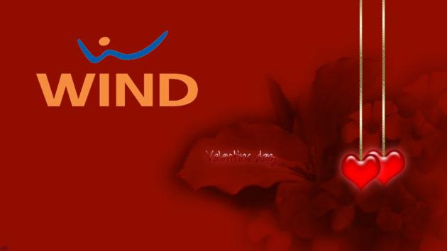 Wind dà sfogo allo spirito romantico per San Valentino