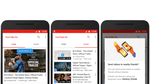 Youtube Go è disponibile in versione beta