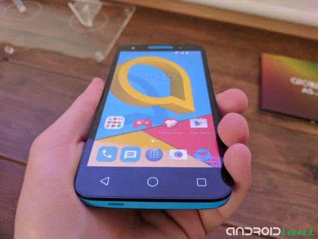 Alcatel presenta U5 a 99€, dispositivo di fascia bassa orientato alle foto [MWC 2017]