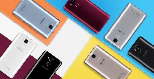 DOOGEE Y6: Smartphone tutticolori+2