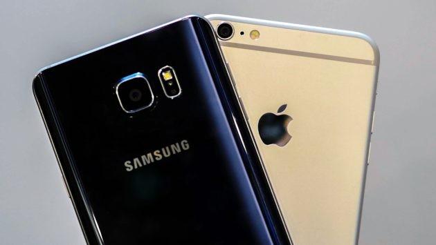 iPhone supera in vendite gli smartphone Samsung durante il Q4 2016