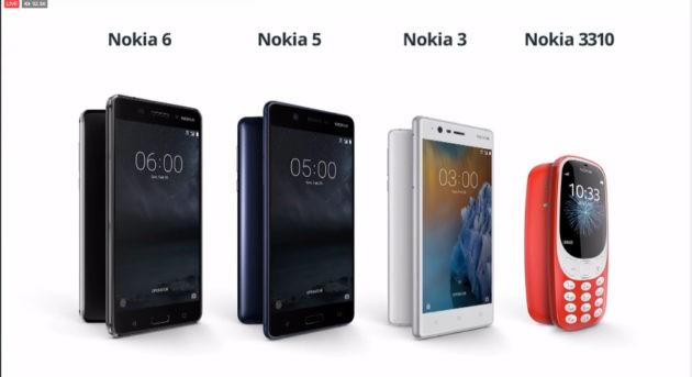 [MWC 2017] Nokia presenta Nokia 6, Nokia 5, Nokia 3 e....il 3310! [Update: Foto]