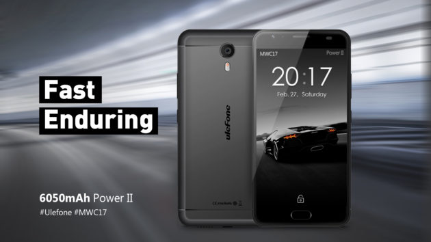Ulefone Power 2 in mostra all'MWC 2017