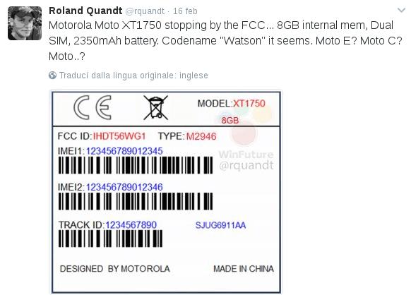 motorola xt1750 watson twitter roland quandt